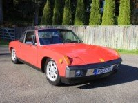 1972 Porsche 914 2.0 Liter Clean solid Red driver Manual $24 For Sale