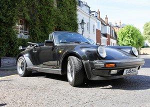 1986 911 Very rare super sport cabriolet