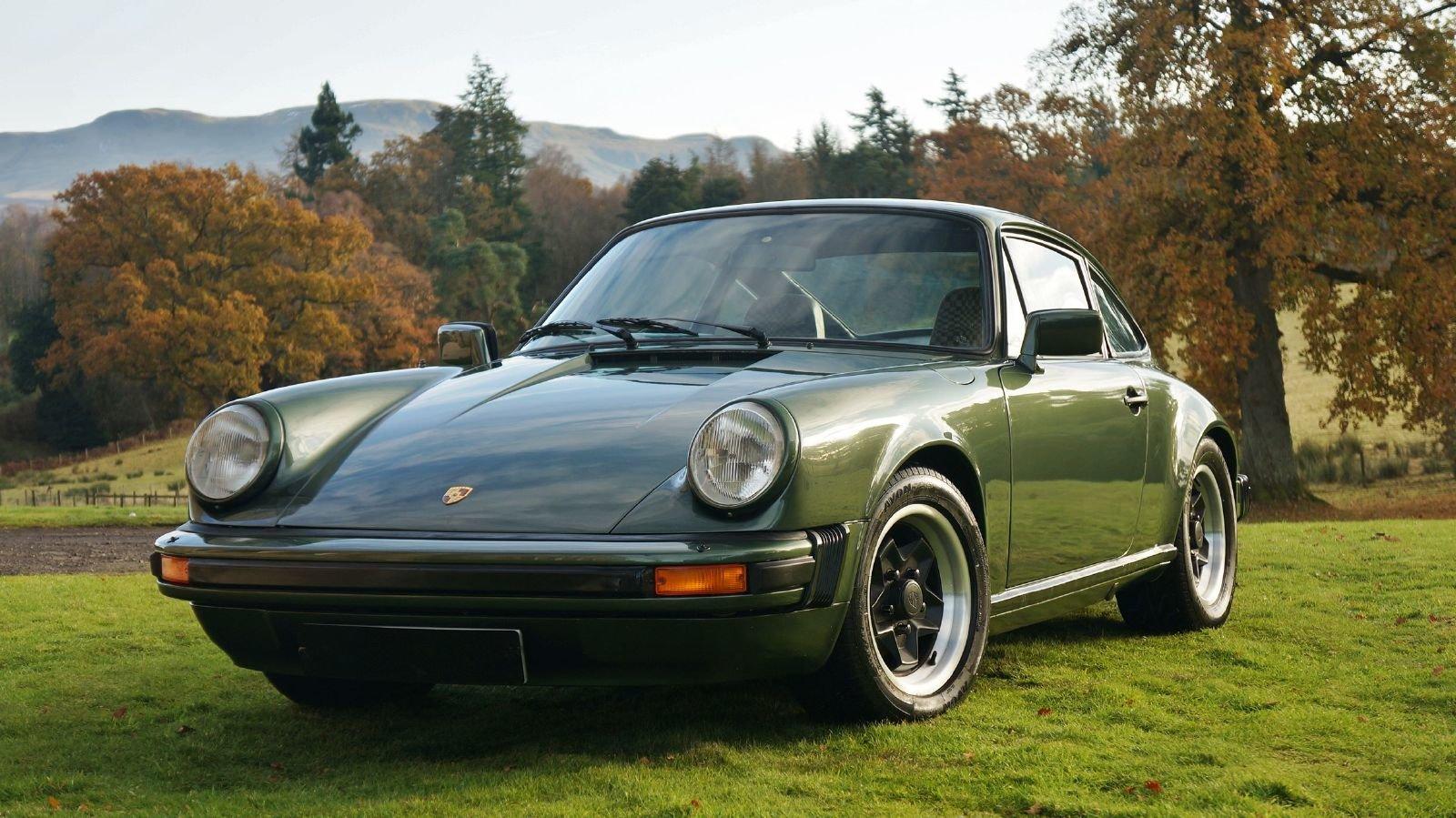 1979 Porsche 911 SC Oak Green Coupe For Sale (picture 1 of 6)