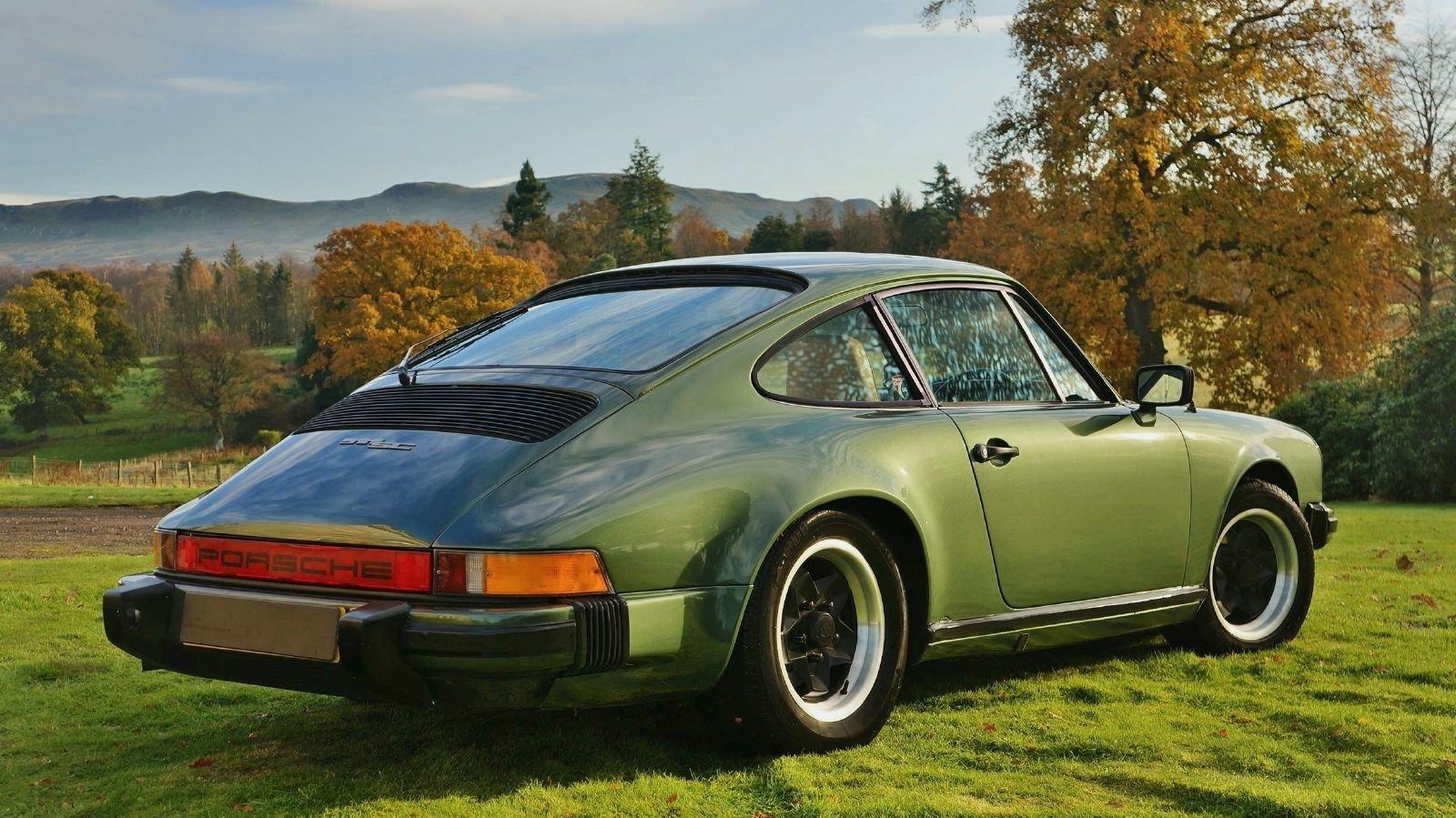 1979 Porsche 911 SC Oak Green Coupe For Sale (picture 3 of 6)