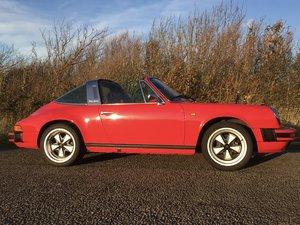 1982 Porsche 911 SC Targa **price reduced** For Sale