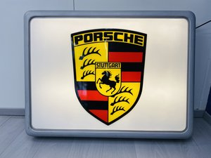 1980 PORSCHE ILLUMINATED SIGN  For Sale