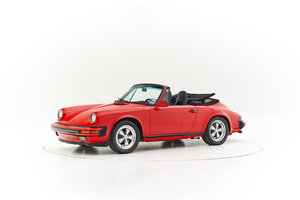 1985 PORSCHE 911 CARRERA 3.2 CONVERTIBLE for sale by auction For Sale by Auction