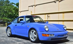 1991 Porsche 911 964 Turbo Maritime Blue Rare Euro $159.5k For Sale