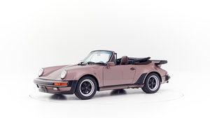 1987 PORSCHE 911 3.2 G50 WERKSTURBOLOOK CONVERTIBLE For Sale by Auction