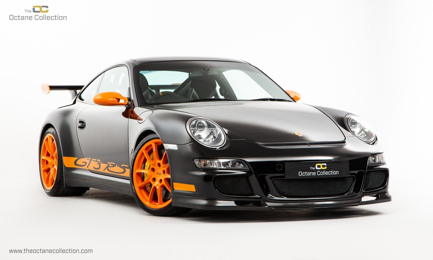 2007 PORSCHE 911 (997) GT3 RS // SOLID BLACK // RHD C16  For Sale (picture 1 of 23)