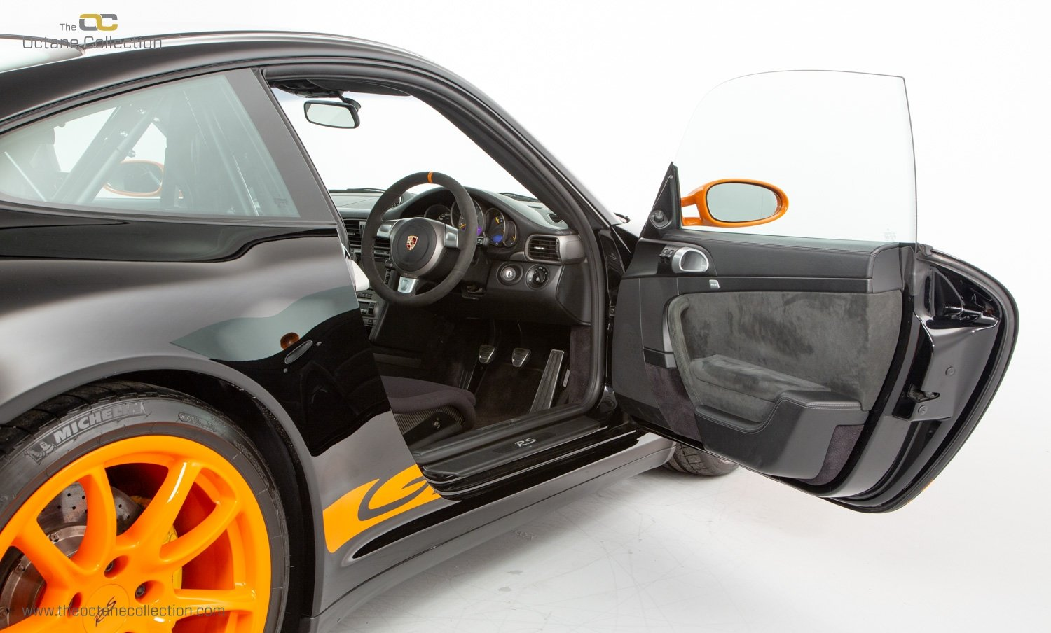 2007 PORSCHE 911 (997) GT3 RS // SOLID BLACK // RHD C16  For Sale (picture 12 of 23)
