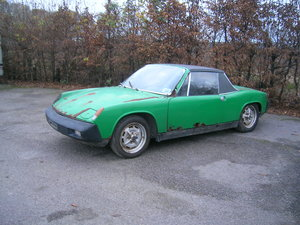 1975 Porsche 914 Restoration Project For Sale