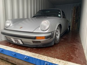 1987 Porsche 911, project, Damaged LHD For Sale
