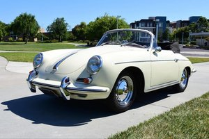 # 23011 1962 Porsche 356B T6 Super 90 Cabriolet For Sale