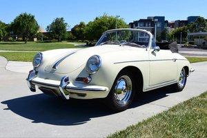 # 23011 1962 Porsche 356B T6 Super 90 Cabriolet For Sale