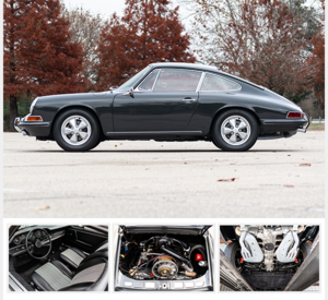 1967 Porsche 911S Coupe Euro-specs Restored $110k spent For Sale