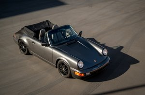 1990 Porsche 911 964 Cabriolet Convertible Grey(~)Grey  $obo For Sale