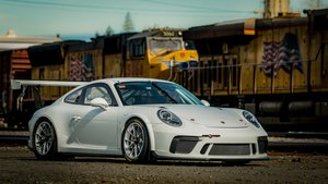 2018 Porsche GT3 Cup Car Race Car only 10 hours Spares $265k