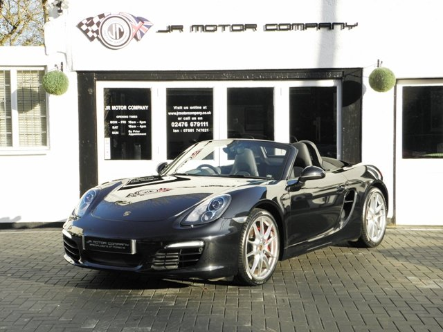 2013 Porsche Boxster 981 3.4 S PDK finished in Basalt Black SOLD (picture 1 of 6)