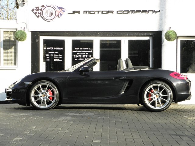 2013 Porsche Boxster 981 3.4 S PDK finished in Basalt Black SOLD (picture 2 of 6)