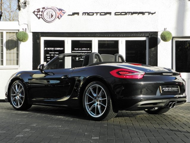 2013 Porsche Boxster 981 3.4 S PDK finished in Basalt Black SOLD (picture 3 of 6)