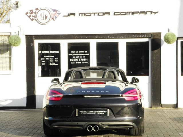 2013 Porsche Boxster 981 3.4 S PDK finished in Basalt Black SOLD (picture 4 of 6)