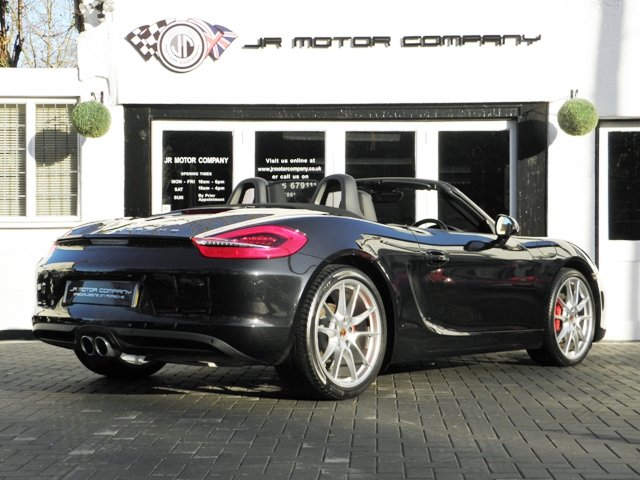 2013 Porsche Boxster 981 3.4 S PDK finished in Basalt Black SOLD (picture 5 of 6)
