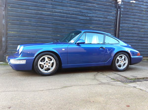 1993 PORSCHE 911/964 3.6 CARRERA 2 COUPE Tip (Low Mileage - Fsh)  For Sale