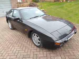 1986 Porsche 944 2.5 Lux Auto Black 101k