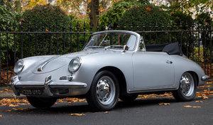 1960 Porsche 356B 1600 Super Cabriolet For Sale by Auction