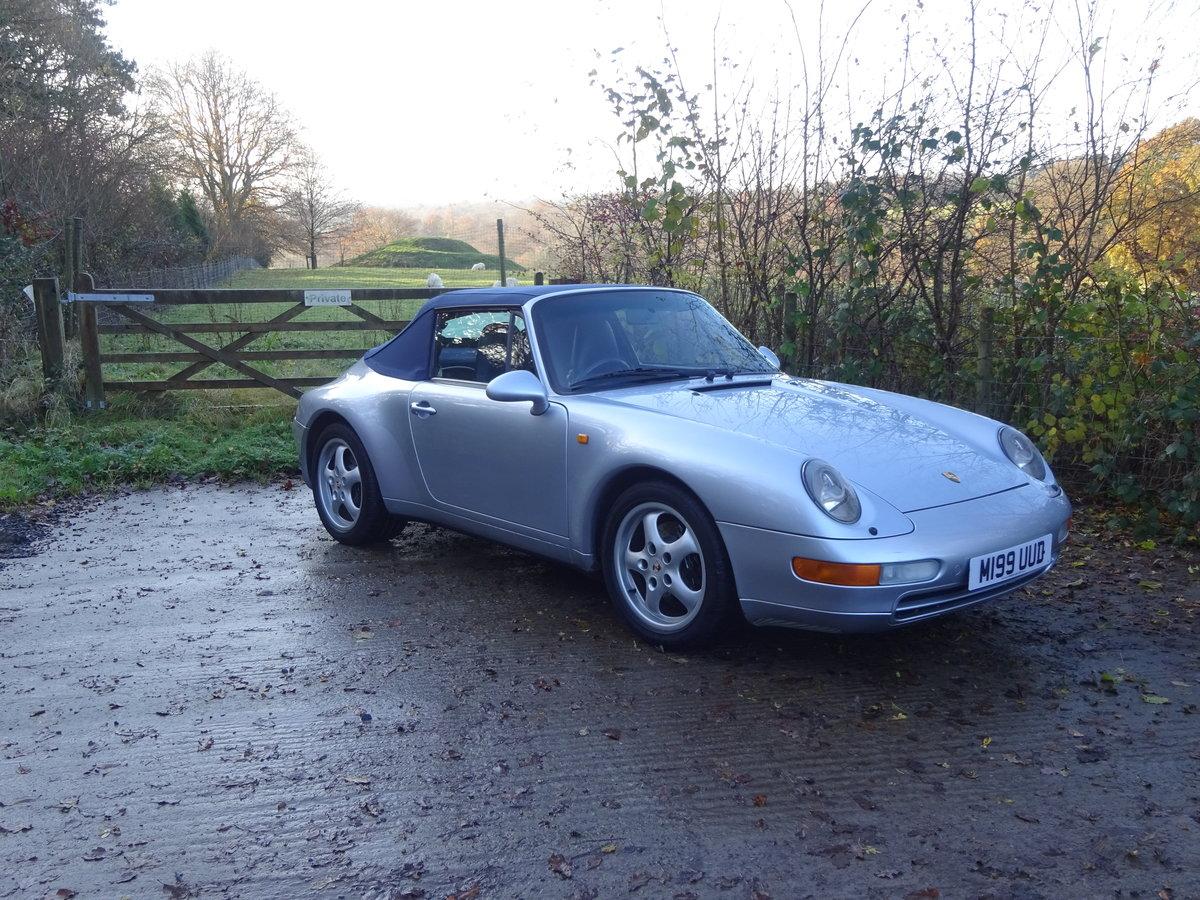 1994 Porsche 911 (993) Cabriolet C2 For Sale (picture 1 of 6)