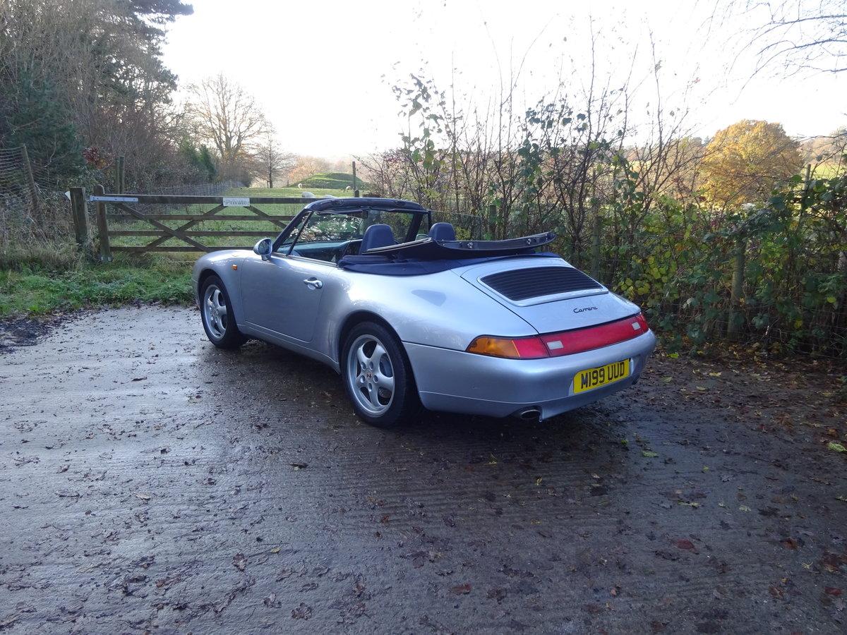 1994 Porsche 911 (993) Cabriolet C2 For Sale (picture 2 of 6)