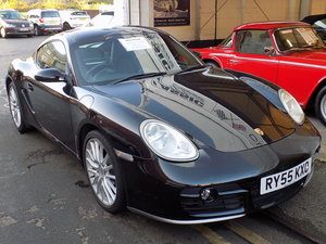 2006 PORSCHE CAYMAN S - ONLY 41,000 MILES FROM NEW!