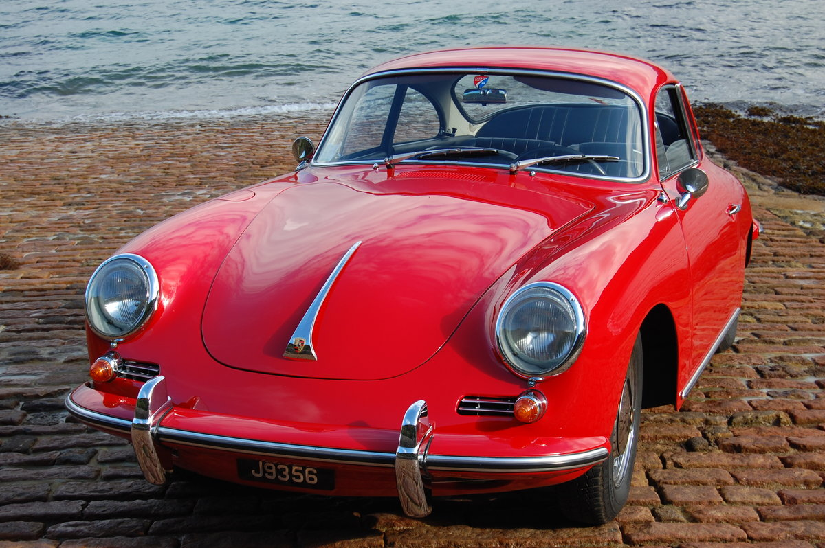 1965 Porsche 356C Coupe LHD Fully restored matching numbers For Sale (picture 1 of 6)
