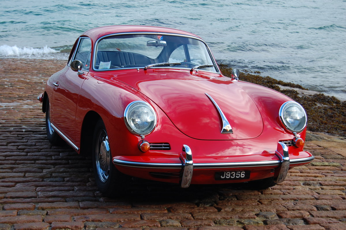 1965 Porsche 356C Coupe LHD Fully restored matching numbers For Sale (picture 2 of 6)