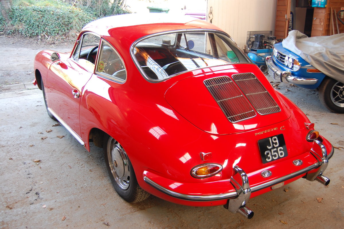 1965 Porsche 356C Coupe LHD Fully restored matching numbers For Sale (picture 3 of 6)