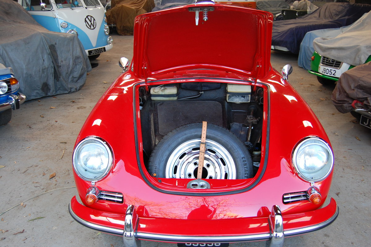 1965 Porsche 356C Coupe LHD Fully restored matching numbers For Sale (picture 5 of 6)