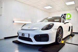 2016 Porsche Boxster Warranty until August 2021