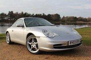 2003 Porsche 911 996 Targa Manual