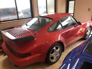 1991 porsche turbo 964 1992 low mileage For Sale
