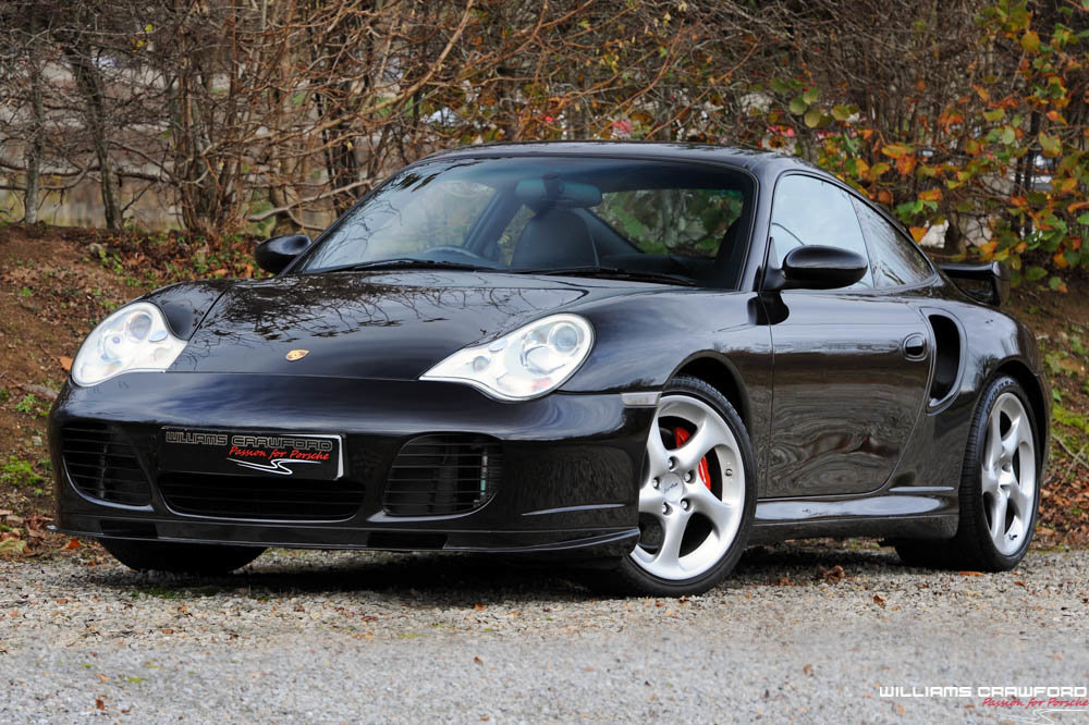 2004 Porsche 996 Turbo manual coupe, 481 bhp For Sale (picture 1 of 6)