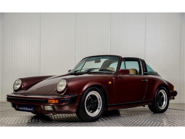 1984 Porsche 911 3.2 Carrera Targa For Sale (picture 1 of 6)