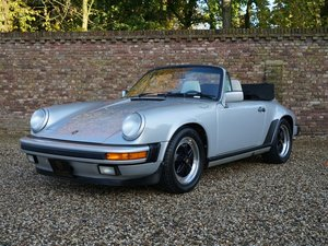1987 Porsche 911 3.2 Carrera Convertible G50 only 77.933 miles, f For Sale