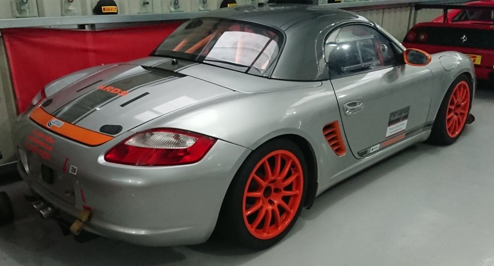 2005 Porche Boxster 3.2S ((987) Race / track car For Sale (picture 6 of 6)