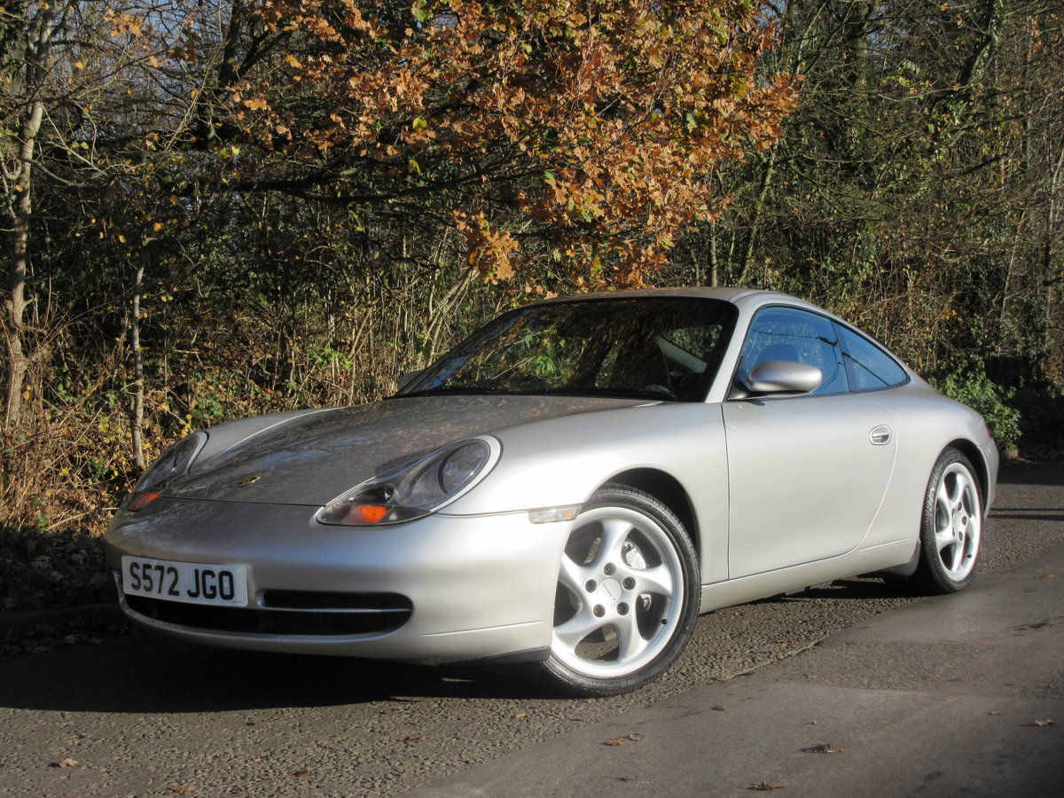 1998 PORSCHE 911 3.4 CARRERA 4, 1 OWNER, FPSH, ONLY 37000 MILES For Sale (picture 1 of 6)
