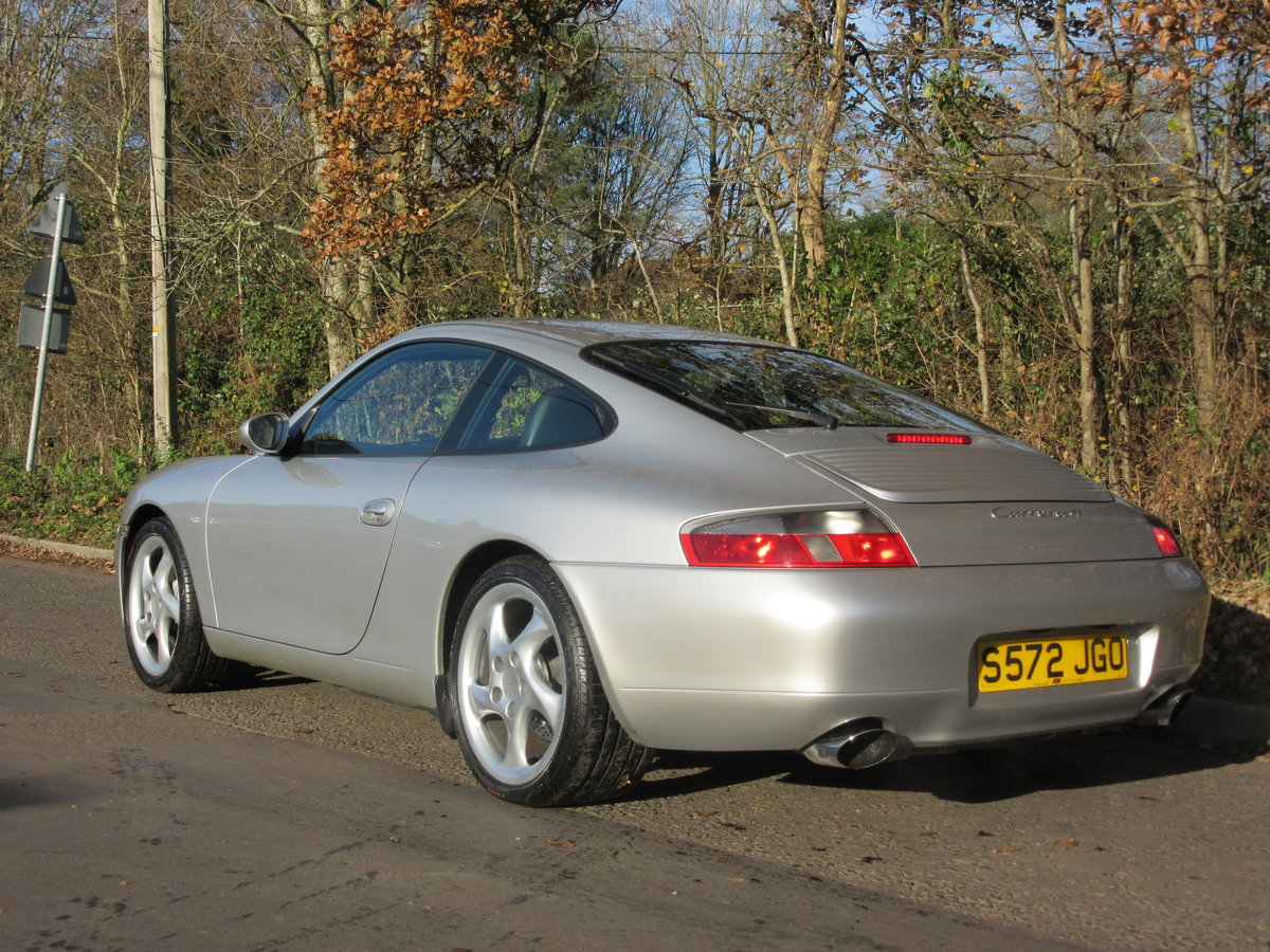1998 PORSCHE 911 3.4 CARRERA 4, 1 OWNER, FPSH, ONLY 37000 MILES For Sale (picture 4 of 6)