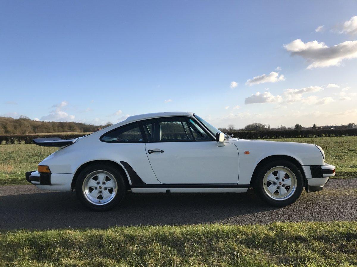 1986 Porsche 911 3.2 carrera sport coupe 93000 miles For Sale (picture 2 of 6)