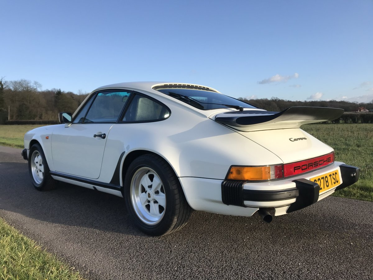 1986 Porsche 911 3.2 carrera sport coupe 93000 miles For Sale (picture 3 of 6)