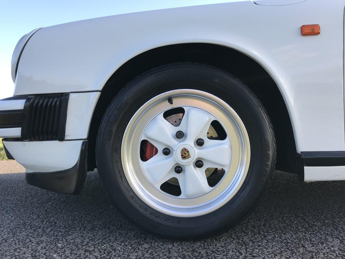 1986 Porsche 911 3.2 carrera sport coupe 93000 miles For Sale (picture 4 of 6)