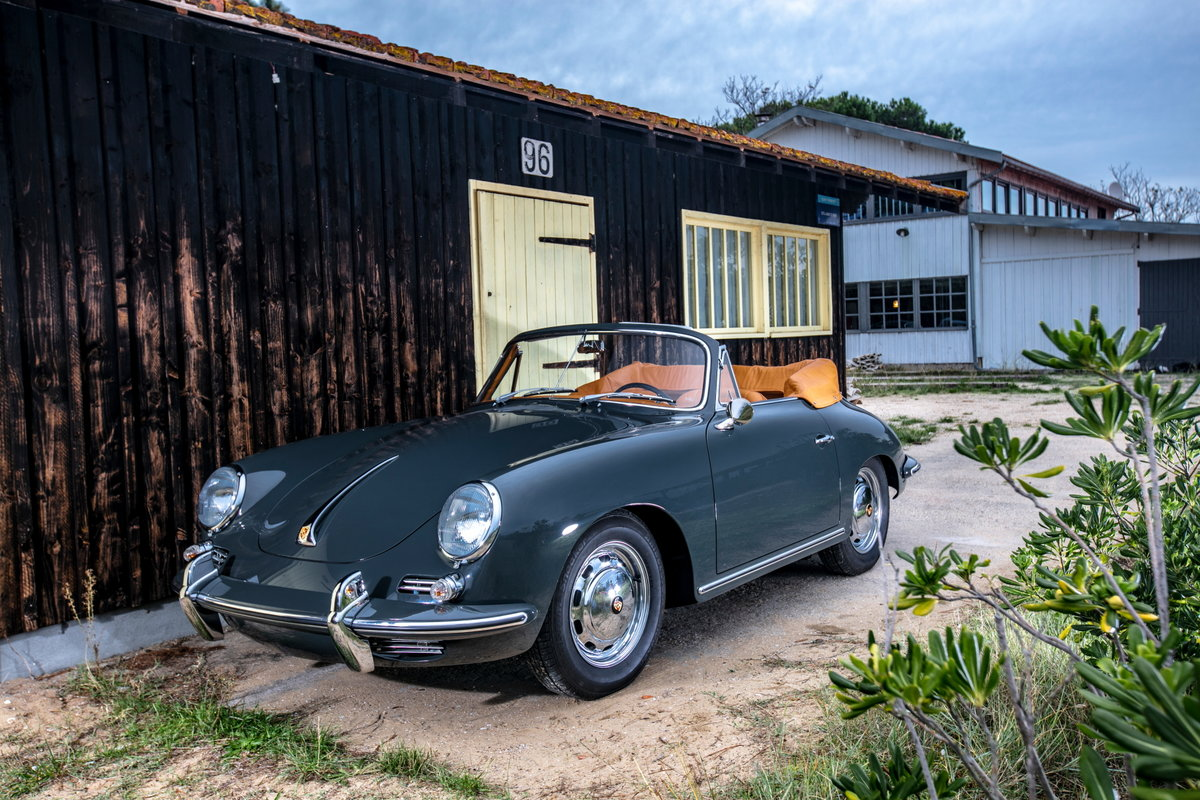 1964 Porsche 356 C Cabriolet For Sale (picture 1 of 6)