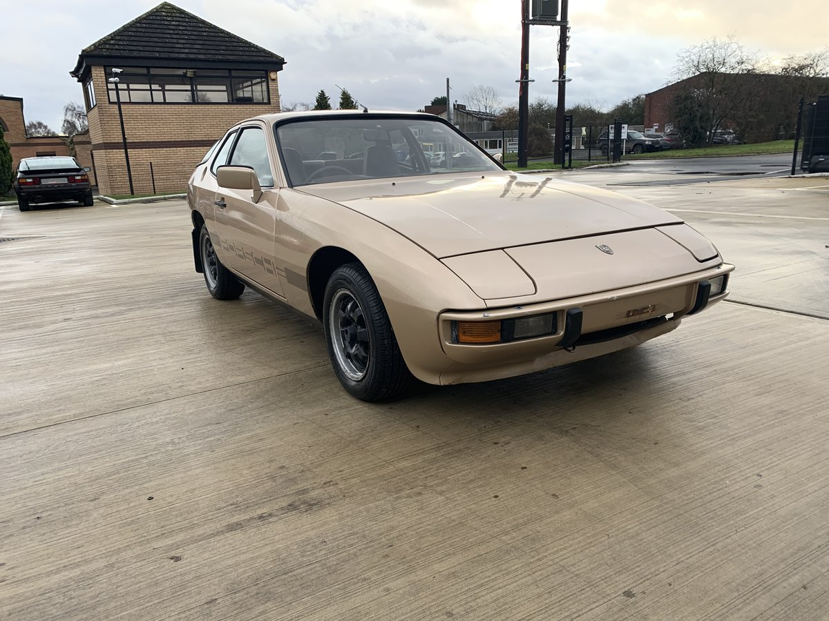 1979 Super Rare 924 Limited Edition Doubloon Barn Find SOLD (picture 1 of 6)