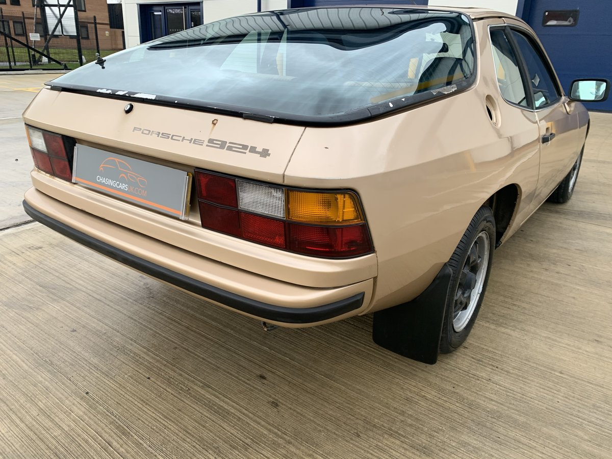 1979 Super Rare 924 Limited Edition Doubloon Barn Find SOLD (picture 2 of 6)