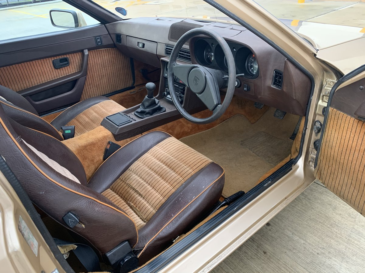 1979 Super Rare 924 Limited Edition Doubloon Barn Find SOLD (picture 3 of 6)