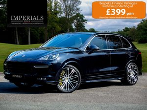 Porsche  CAYENNE  4.8 V8 S TURBO 570 BHP 2017 MODEL VAT Q 8  For Sale